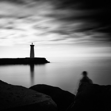 """""""Le pêcheur et le phare"""""""
