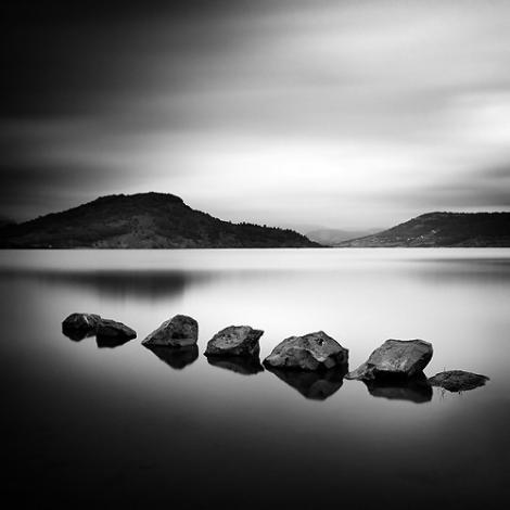 """""""Petits rochers sur le lac"""""""