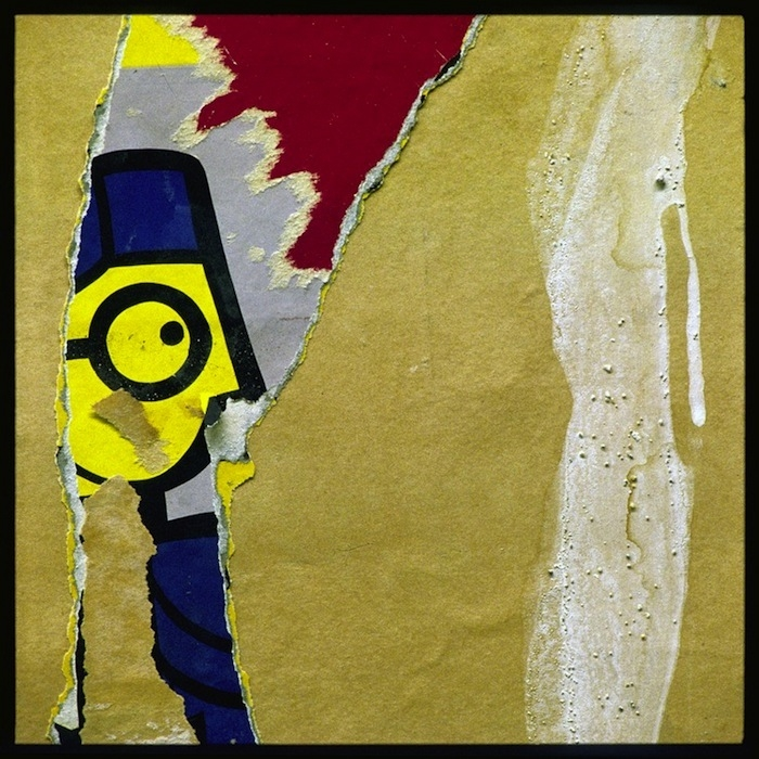 """""""Affiche de la tête jaune"""""""