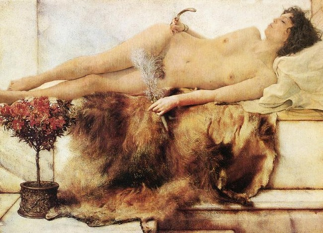 """In the mood for Alma Tadema"""