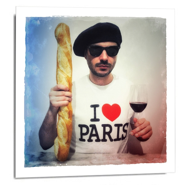 """I love Paris"""