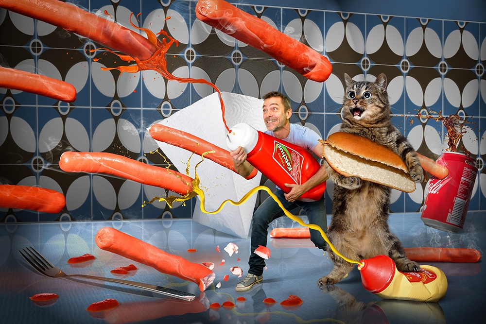 """Hot dog commando"""