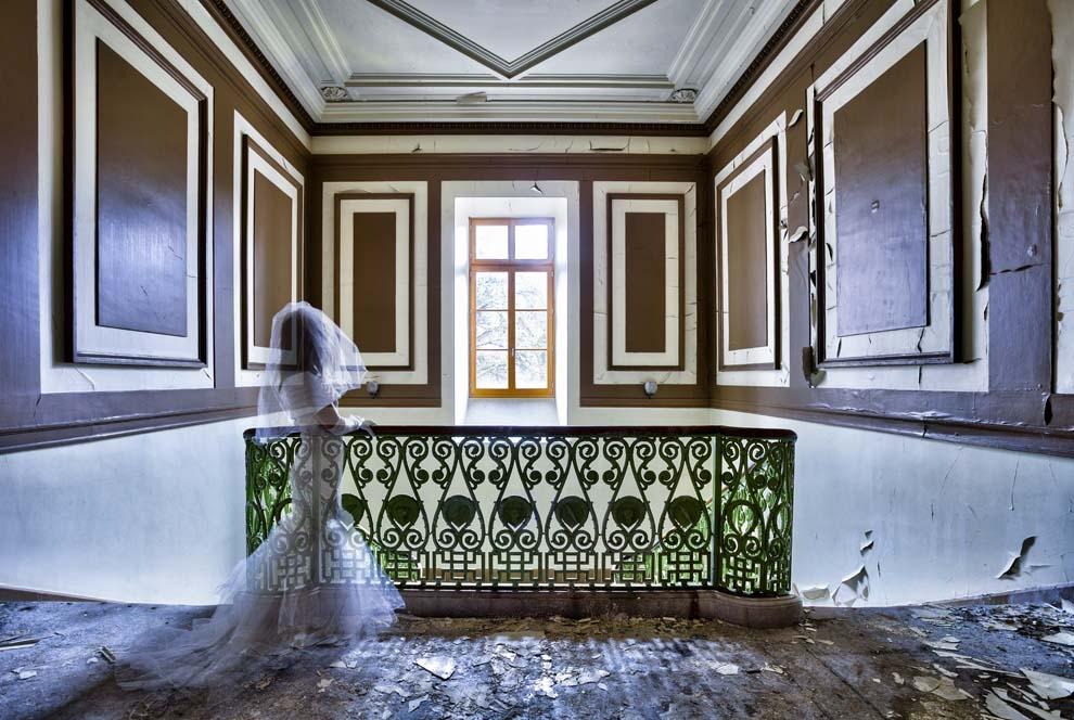 """""""Le fantôme de l'escalier"""""""