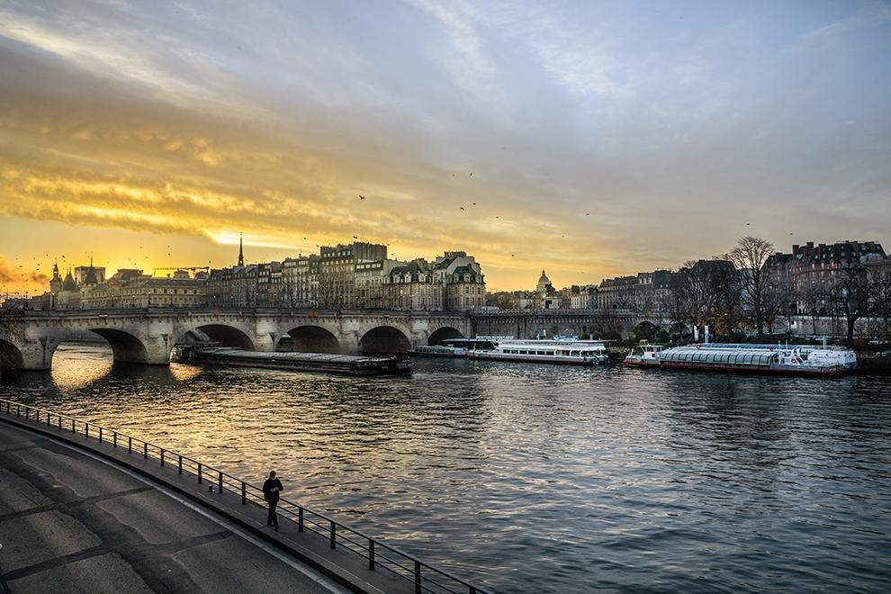"""""""Le solitaire du Pont Neuf"""""""